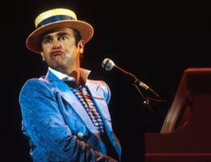 Elton John in 1984