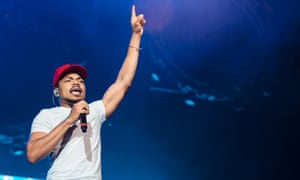 Chance the Rapper says some companies are purposely 'putting out noticeably racist ads so they can get more views'.