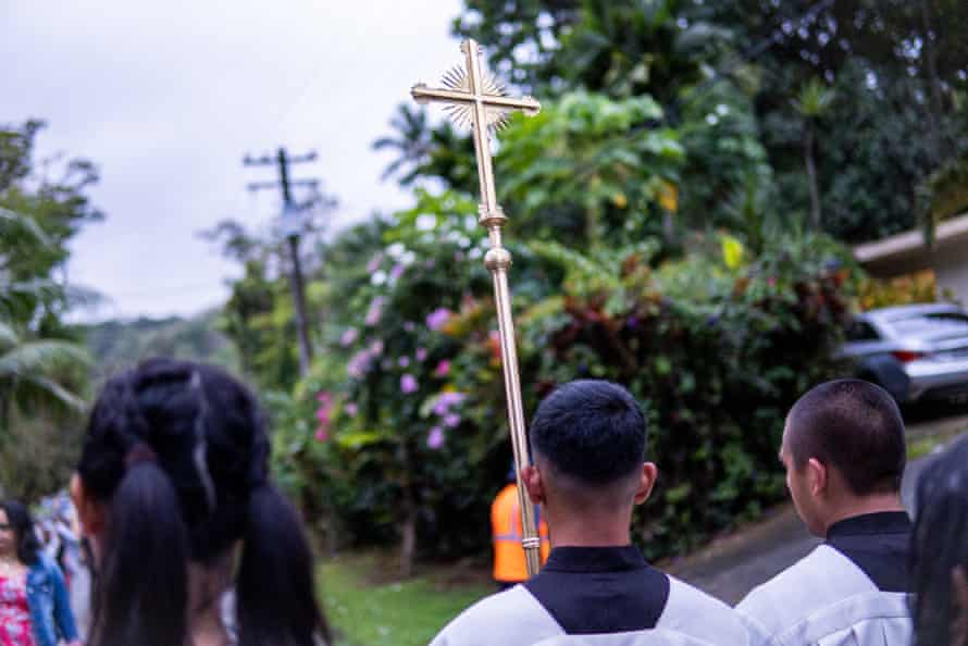 More than 70% of Guamanians still identify as Catholic.