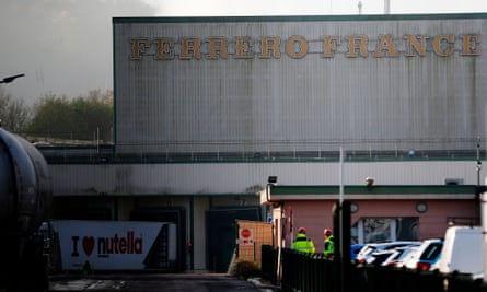 The Ferrero plant in Villers-Écalles, France