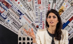 If Five Star Movement candidate Virginia Raggi wins, she would be the first woman to be mayor of Rome.