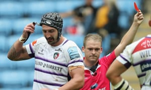 Will Spencer's dismissal by Ian Tempest against Wasps at the Ricoh Arena divided opinion clean in two.