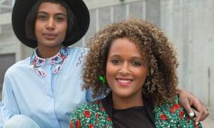 Stance Podcast's hosts (left) Heta Fell and Chrystal . Photograph: Ollie Trenchard