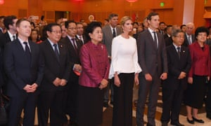 At the Chinese embassy national day reception on Thursday.