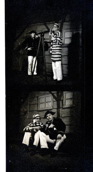 Eric and Ernie in panto