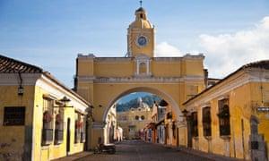 Nuestra Senora de la Merced, Santa Catalina Arch, Calle del Arco, Antigua, Guatemala