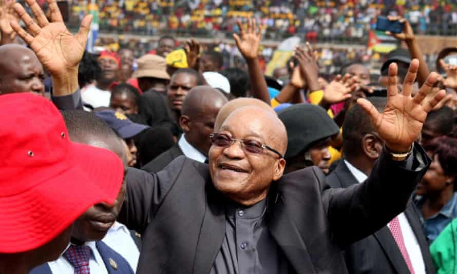 Jacob Zuma in Limpopo Freedom Day, South Africa