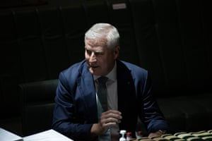 Deputy PM and Nationals leader Michael McCormack.