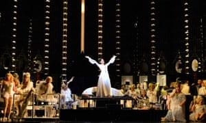 A performance of La Traviata at the Coliseum