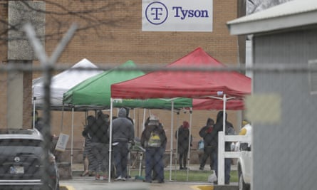 The Tyson plant in Logansport, Indiana, temporarily closed after several employees tested positive for Covid-19.