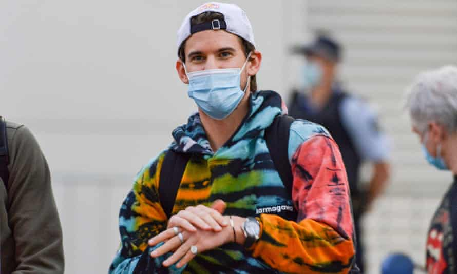 Dominic Thiem says he can understand why Tennis Australia and the government are being so careful.