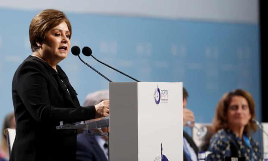 Patricia Espinosa, executive secretary of UN Climate Change
