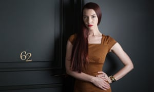 Chrysta Bell photographed at Hotel Providence in Paris this month.