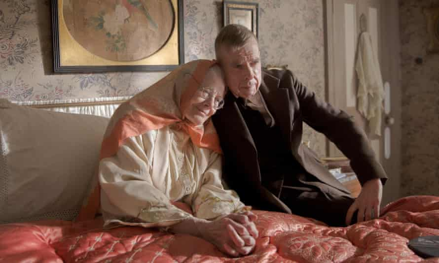 Detailed depiction … Vanessa Redgrave and Timothy Spall.