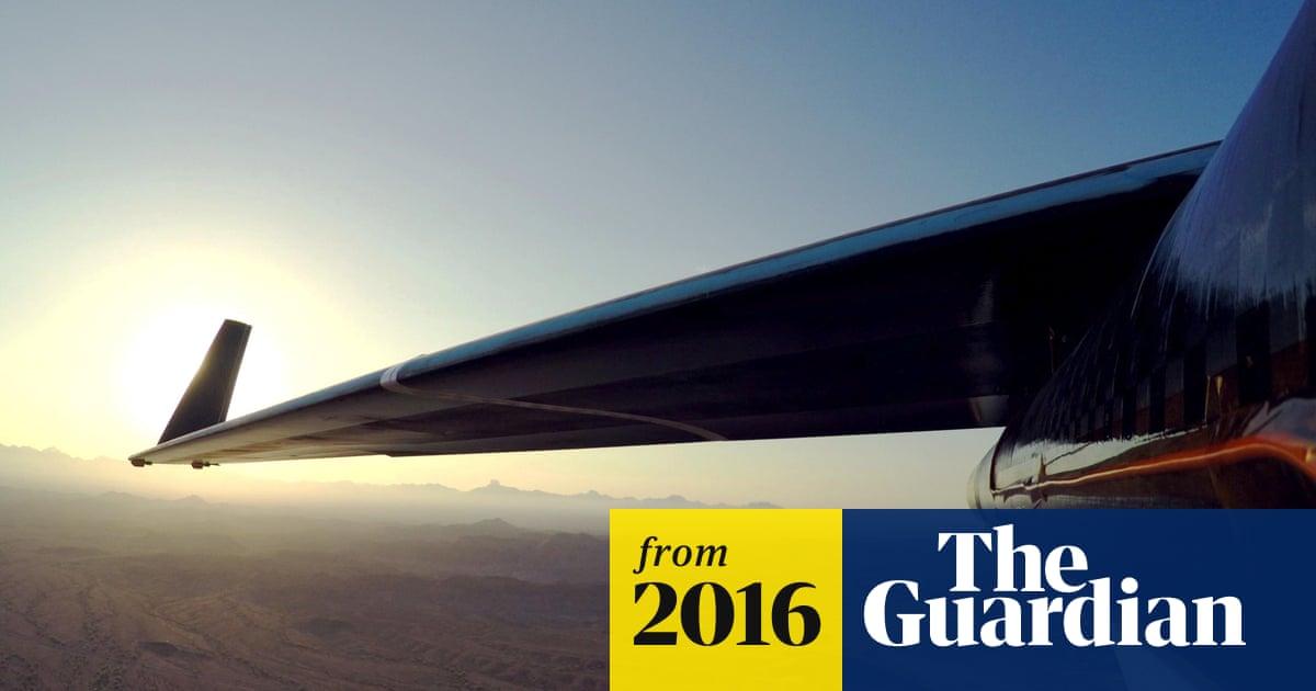 Facebook's solar-powered internet plane takes flight