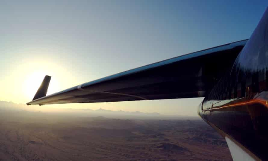 The Aquila Facebook plane