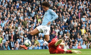 Leroy Sané Strikes Early As Dominant Manchester City Brush