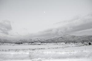The landscape where Zaido ritual is held