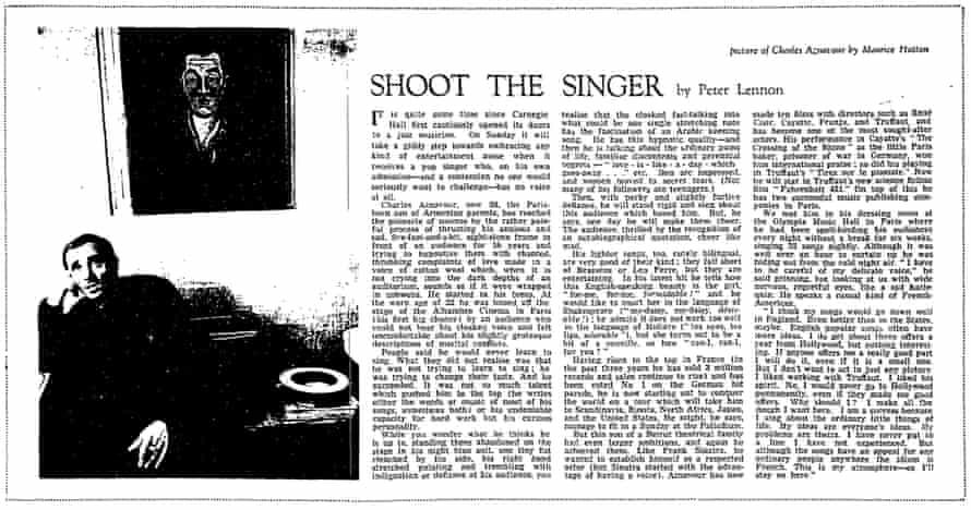 The Guardian, 27 March 1963.