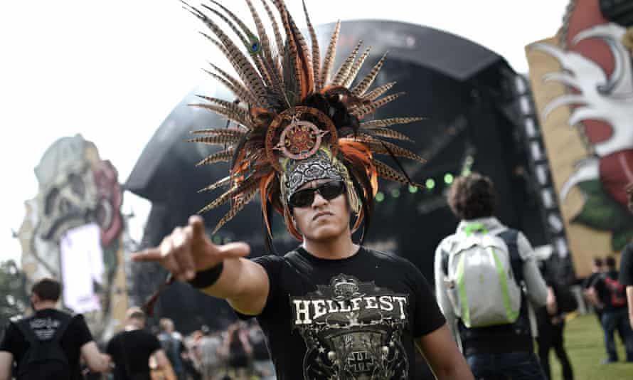 a heavy metal fan