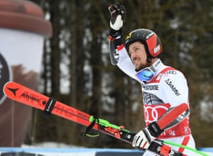 Marcel Hirscher will be one of the favourites in the alpine skiing events.