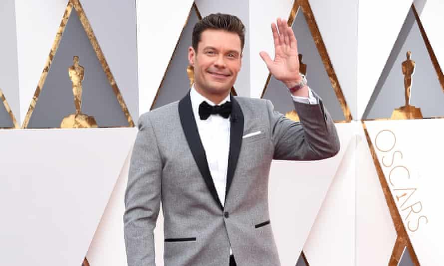 Ryan Seacrest at the Oscars.
