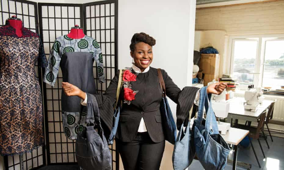Kemi Oloyede of the Sew London Project