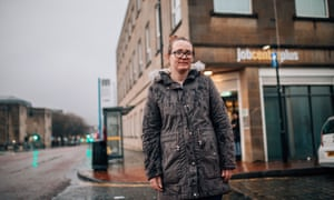 Paula, a universal credit claimant, in Bolton.