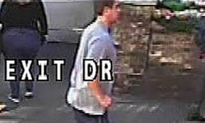 CCTV still issued by the Metropolitan police of the suspect police wish to trace over the assault on a woman on Putney Bridge.