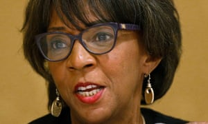 The Los Angeles county district attorney, Jackie Lacey, has continued to pursue death penalty trials despite a state moratorium on the practice.
