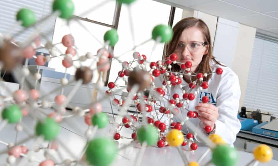 Technician in a laboratory