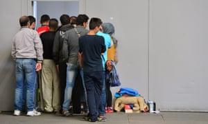 Refugees  in Erfurt, Germany