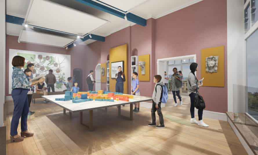 An artists' impression of the Farrell Centre.