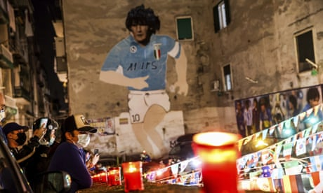 In Naples, a city steeped in pagan rites, I saw Maradona cast his spell