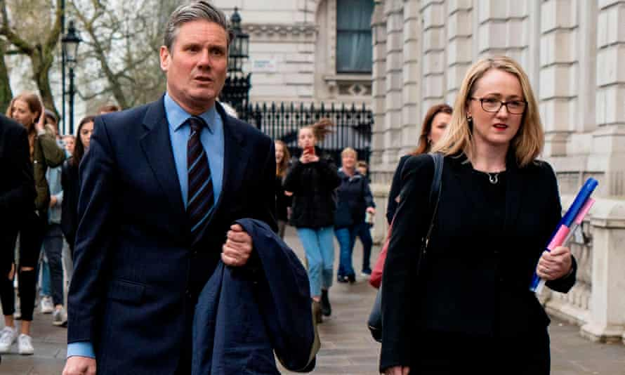 Keir Starmer and Rebecca Long-Bailey