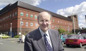 Dr Richard Taylor outside Kidderminster general hospital