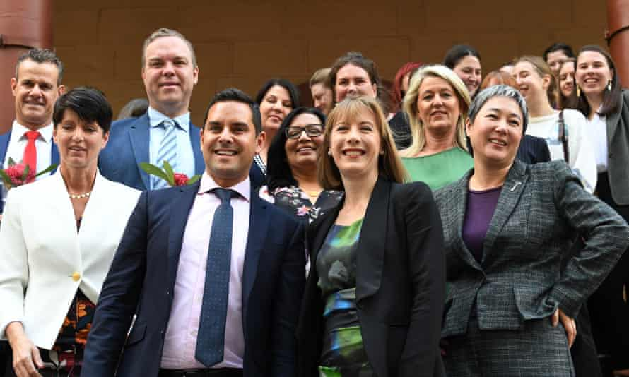 MPs outside NSW parliament