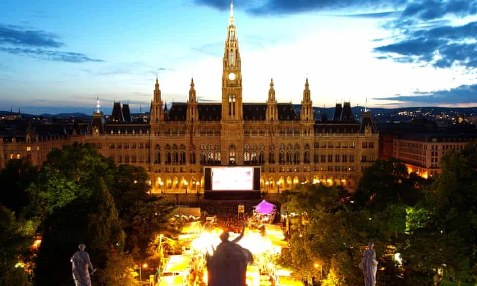 Film Festival on the Rathausplatz, Vienna