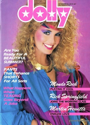 Dolly magazine cover