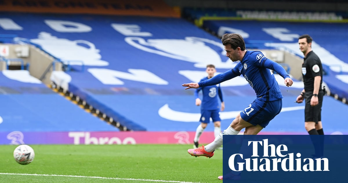 Ben Chilwell relishing England battle with Luke Shaw for starting berth