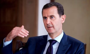 The candidate once interviewed Bashar al-Assad for Fox News.