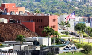 It appeared to be business as usual at the US embassy in Caracas despite President Nicolás Maduro giving diplomats 72 hours to leave.