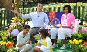Barack Obama reads Green Eggs and Ham.