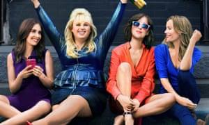 Alison Brie, Rebel Wilson, Dakota Johnson and Leslie Mann in How to Be Single.