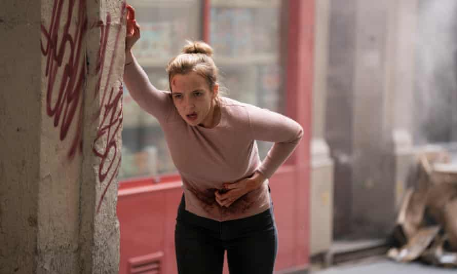 Jodie Comer, now an 'itty bit vulnerable' in Killing Eve.
