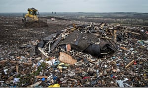 Packington landfill, near Birmingham.