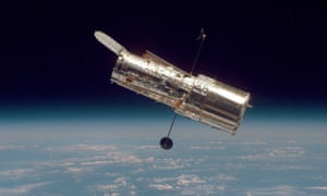hubble telescope fixed by jiggling it around science the guardian
