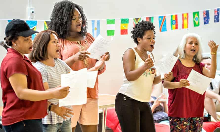 West Yorkshire Playhouse's sanctuary choir Asmarina Voices