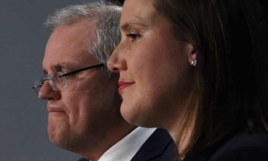 Treasurer Scott Morrison and financial services minister Kelly O'Dwyer