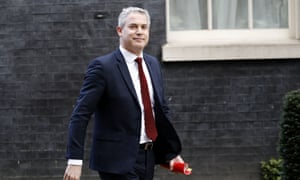 The Brexit minister, Stephen Barclay